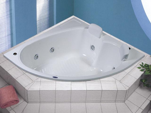 Banheira Albacete -> Fotos De Banheiro Com Banheira De Canto