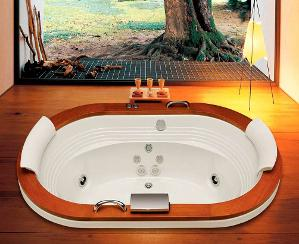 banheira hidromassagem europe wood jacuzzi